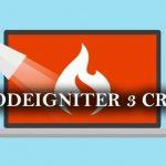 tutorial CRUD dengan Codeigniter 3 dan bootsrap